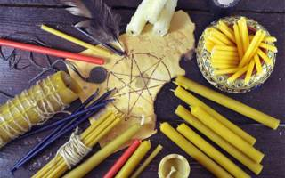 Приворот с использованием скрученных свечей: особенности ритуала