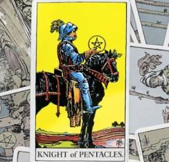 Рыцарь пентаклей в Таро: толкование карты и ее сочетание с другими