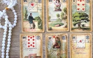 Что обозначают карты Ленорман в колоде Таро