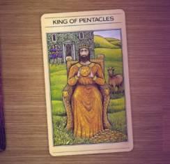 Значение карты Король Пентаклей и в сочетании в раскладе с другими картами Таро
