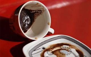 Толкование гласных и согласных букв при гадании на кофейной гуще