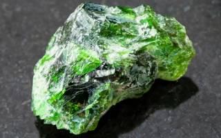 Магические и лечебные свойства камня хромдиопсида