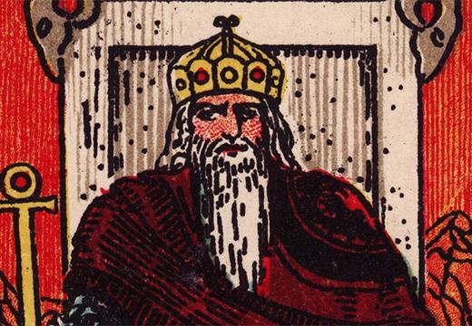 рисунок император таро