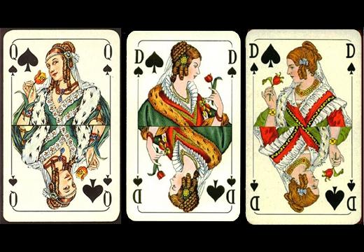 три пиковые дамы