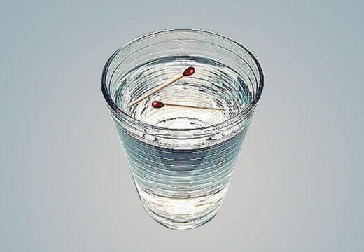 вода и спички