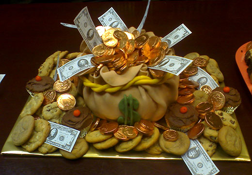 денежный алтарь