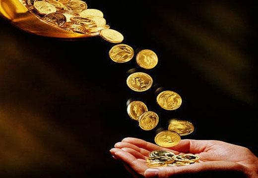 монеты падают в руки