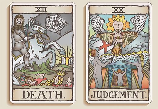 карты суд и смерть