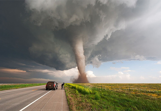 сильный ураган