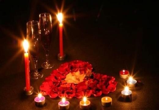 свечи и сердце