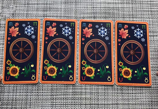 четыре карты