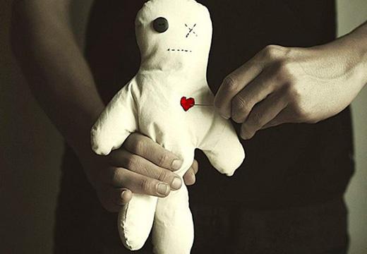 большая кукла вуду