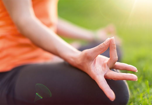 положение рук при медитации