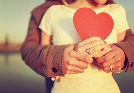 пара с сердечком