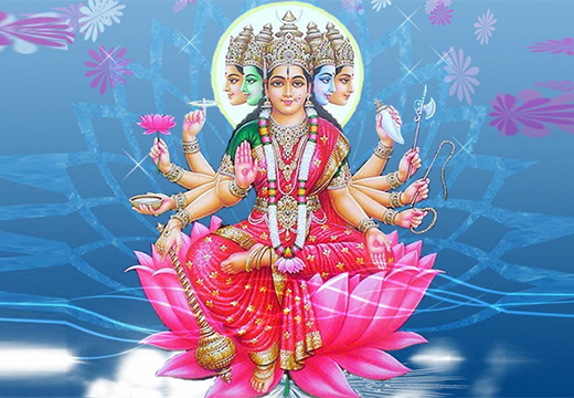богиня гаятри
