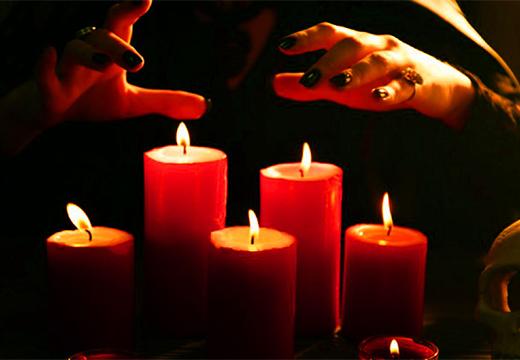 пассы над свечами