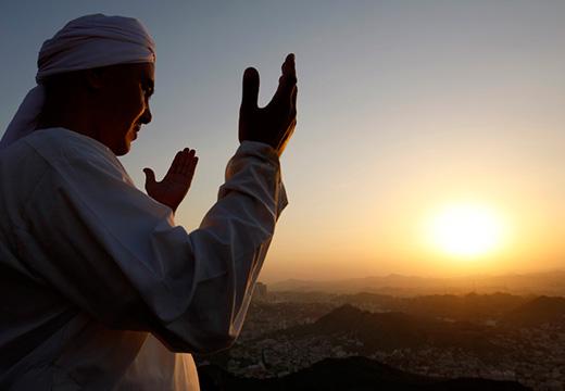 мусульманин на рассвете