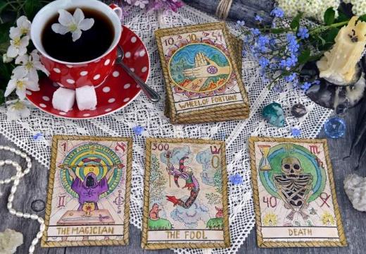 карты таро чай