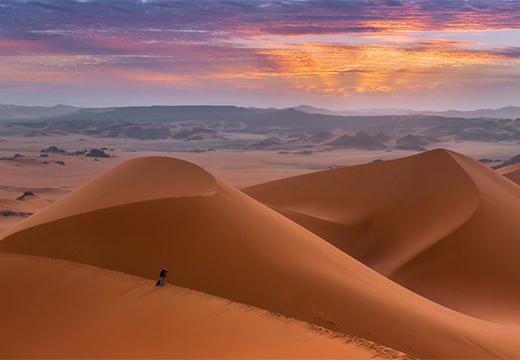песчаные барханы