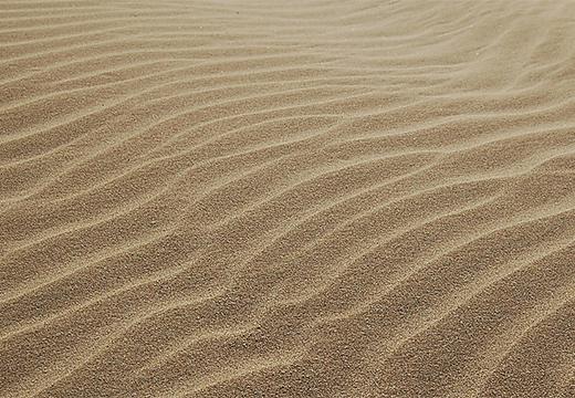 светлый песок