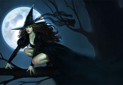 художественное представление ведьмы