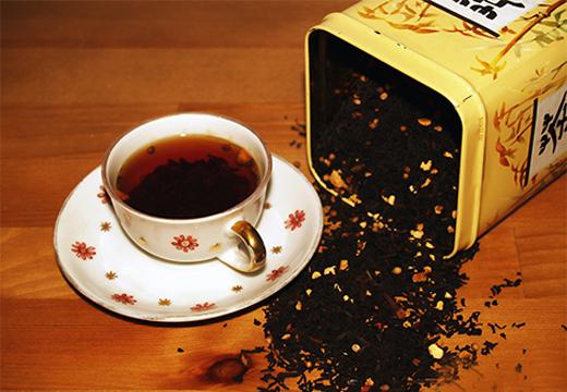 чай из коробки