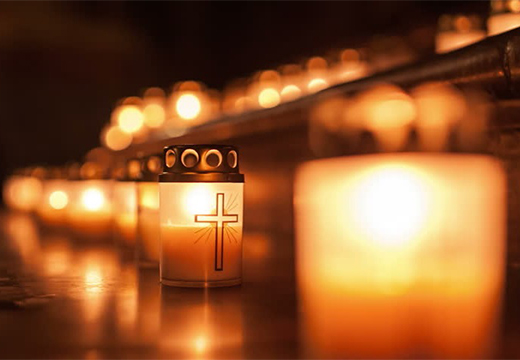 лампадки со свечами
