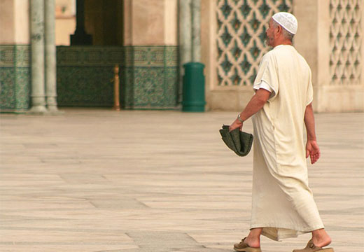 мужчина мусульманин