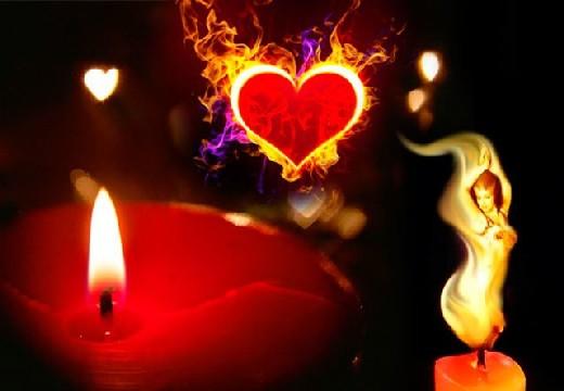 свеча и сердце