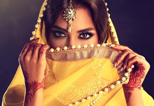 девушка индианка