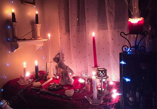 место для проведения ритуала