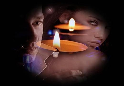 свечи и люди