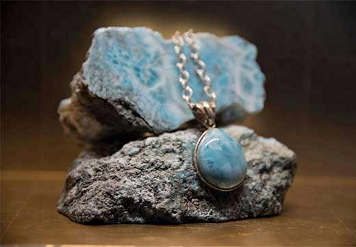 кулон с минералом