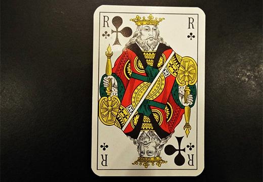 карта крестовый король