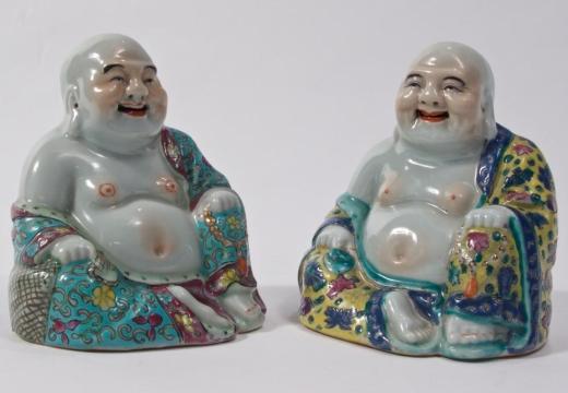 фарфоровые статуэтки будды