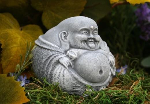 статуэтка будды каменная