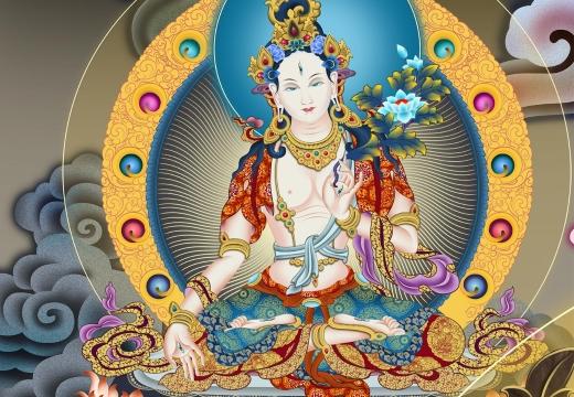 белая тара богиня