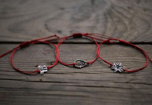 браслеты с символом