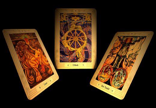 три гадальные карты
