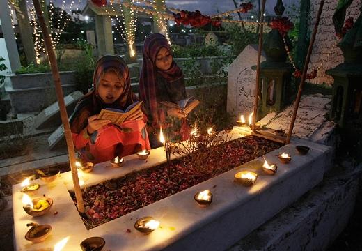 дети мусульмане молитва
