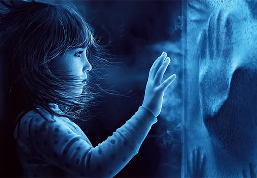 ребенок вызывает духа