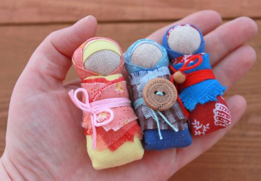 Куклы-пеленашки для детей