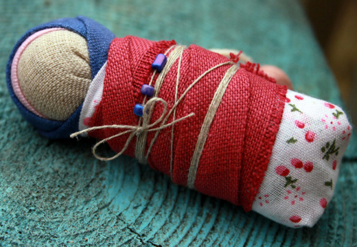 Кукла-пеленашка оберег