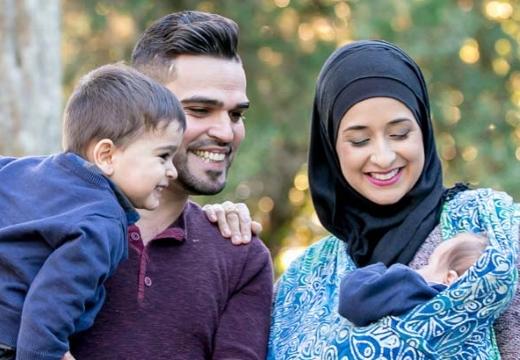 мусульмане с детьми