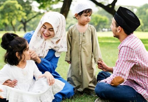 семья мусульман