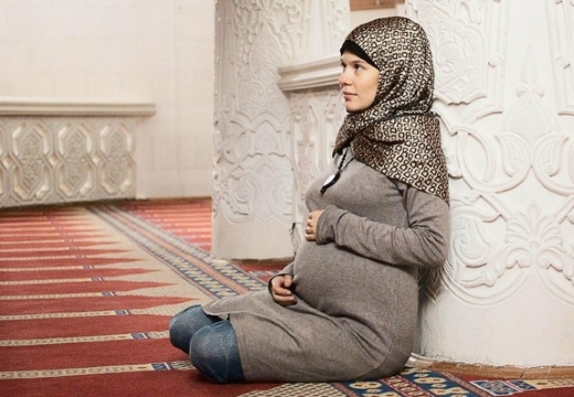 беременная мусульманка