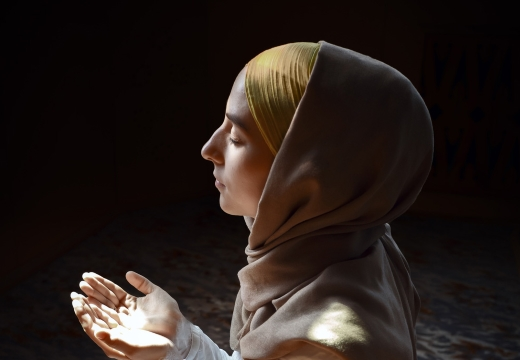 молитва мусульманка