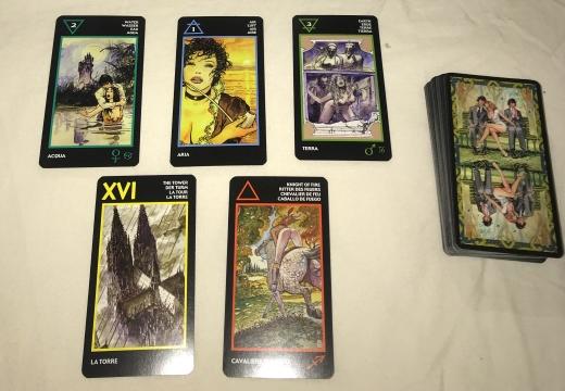 расклад пять карт манара