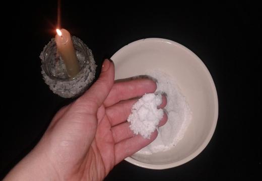 Снятие проклятия солью