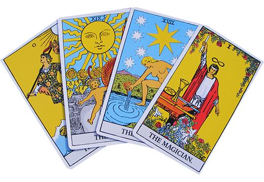 4 карты Таро для расклада